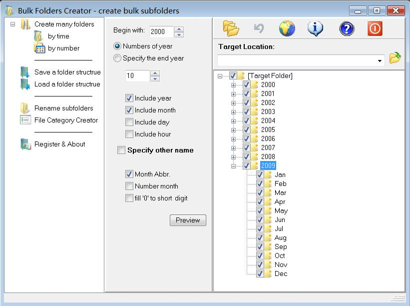 Bulk Folders Creator screenshot